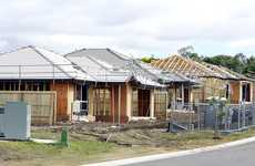 Housing under construction at Raceview.